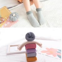 Thermal Socks Kids (knitted w/ fleece lining)