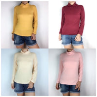 Cotton Stretchy Turtleneck (XS- semi medium frame Only)