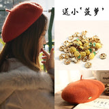 Wool Beret Women (adjustable, thick & high quality)