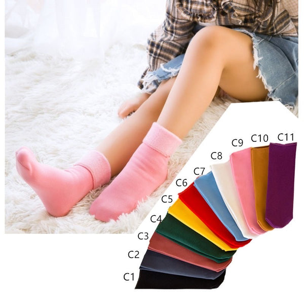 Thermal Socks Kids (smooth fabric w/ fleece lining)