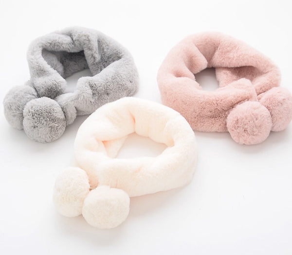 Kids (Smooth & Soft) Fur Scarf
