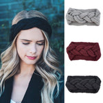 Knitted Braided Turban