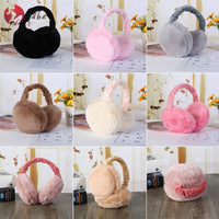 Foldable/Adjustable Furry Earmuffs