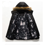 Bubble Coat Men Detachable Hood.