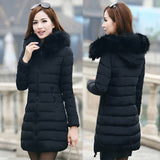 Bubble Coat w/ Detachable Colored Fur (Women)