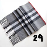 Plaid Scarf (Unisex)