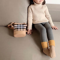 Kids Knitted Winter Turtleneck (Thick Knitted Cotton)