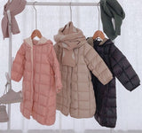 Kid's Down Coat (90% real duck feather) Lightweight & really soft