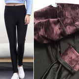 Plus Size Thermal Leggings w/ Velvety Smooth Fleece Lining Women (High Quality)