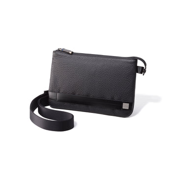 Accessories | Strapped Leather Pouch