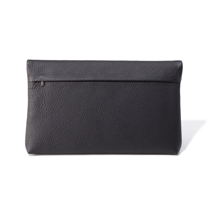 Accessories | Leather Fold-Over Pouch
