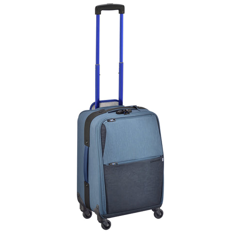 GREENWICH | 4-Wheeled Carry-on Spinner BLUE