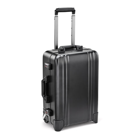 Classic Aluminum | Two-Wheel Carry-On BLACK