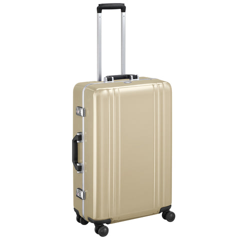"Classic Polycarbonate | 25"" Spinner Travel Case POLISHED GOLD"