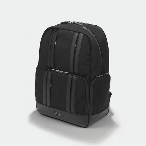 The Journal | Large Nylon Backpack 81003 BLACK