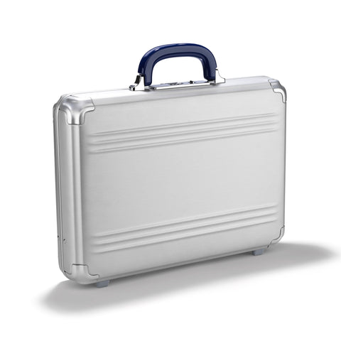 Pursuit Aluminum | Medium Attache Case SILVER