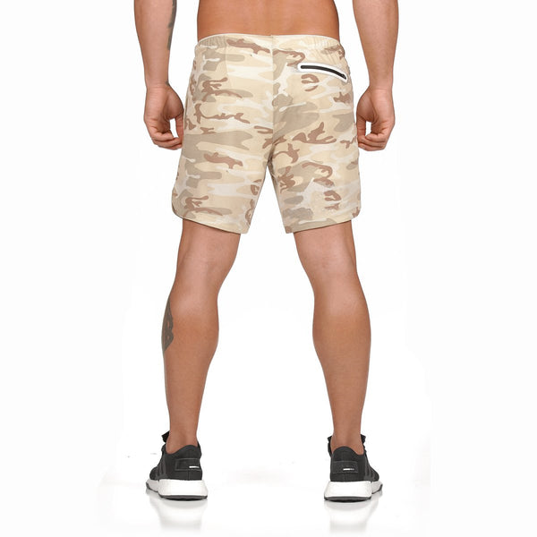 Men's Summer Sports Quick-drying Breathable Polyester Shorts