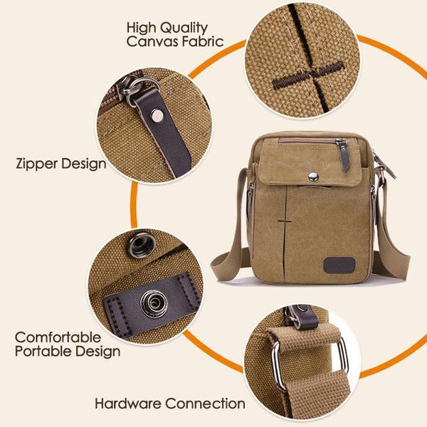 Canvas Multifunctional bag - Chiclulu
