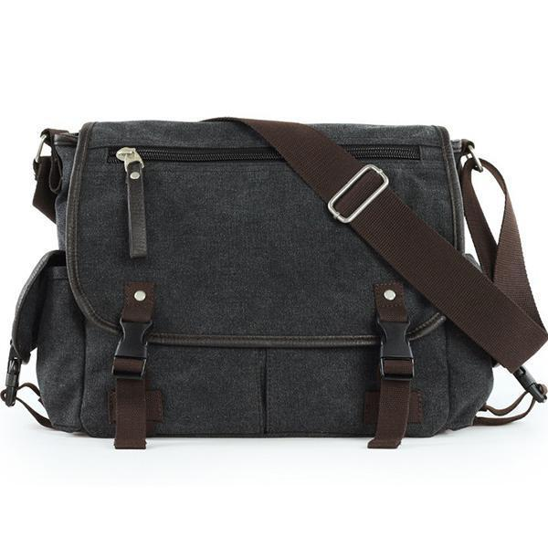 Canvas Shoulder Bag - Chiclulu