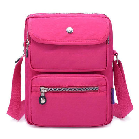 Fashion Nylon Shoulder Bag - Chiclulu