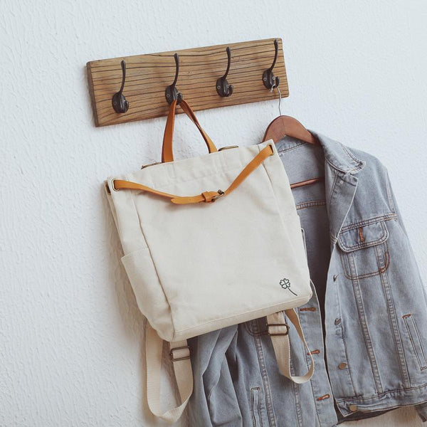 Canvas Women Backpacks - Chiclulu