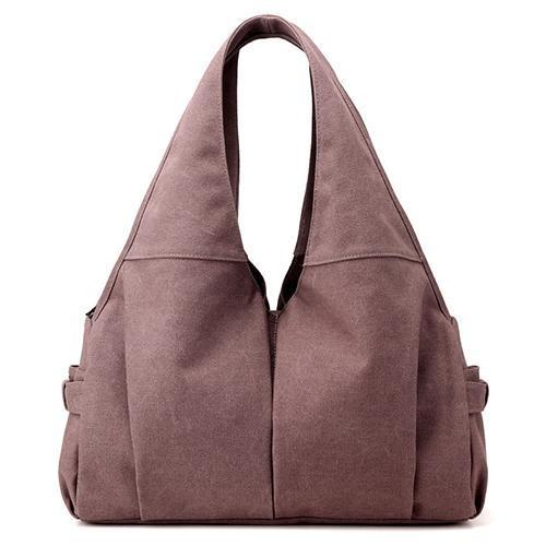 Canvas Hobo Tote Shoulder Bag - Chiclulu