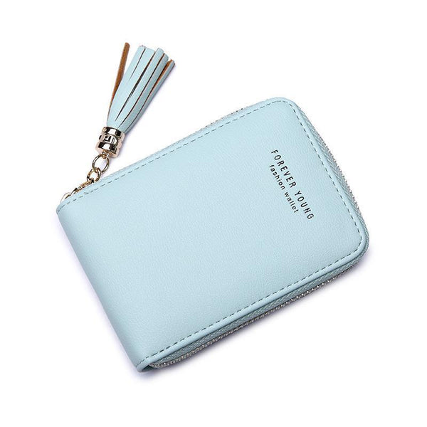 RFID Zipper Multi-card Wallet