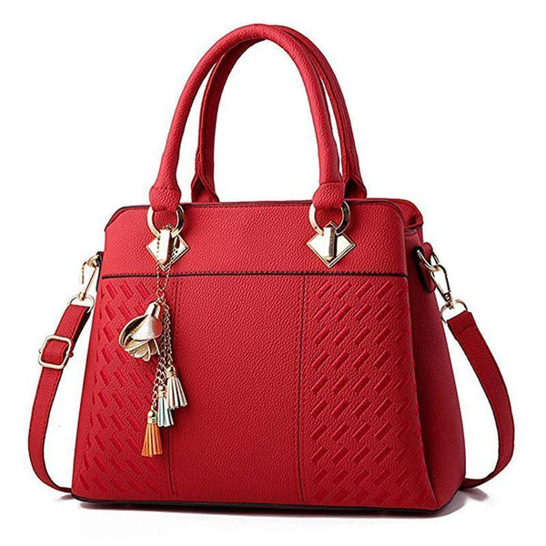 Leather Larger Capacity Women Handbag