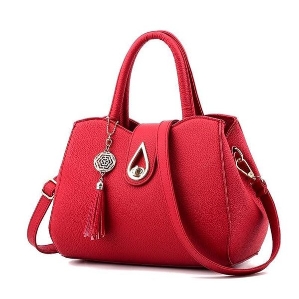 Top-Handle Fashion Women PU  Bag