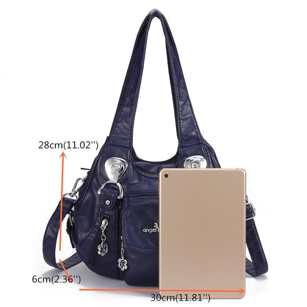 Multi-pocket Waterproof Shoulder Handle Bag
