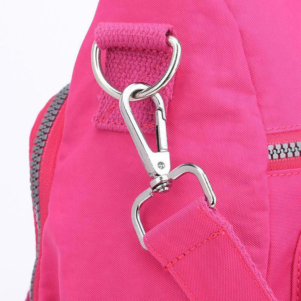 Nylon Women Backpack Travel Bags