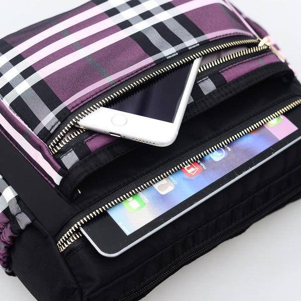 British Nylon Small Shoulder Phone Bag - Chiclulu
