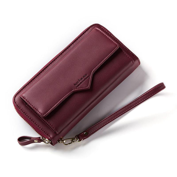 Vintage Large Capacity Women Zipper Wallets