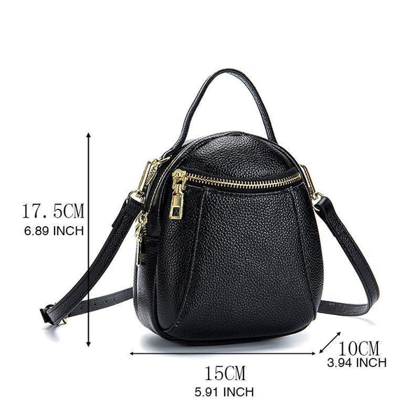 Stylish Design Genuine Leather Crossbody Phone Bag