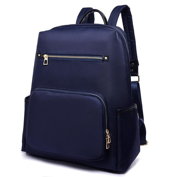 Casual Daily Solid Travel School Backpack - Chiclulu