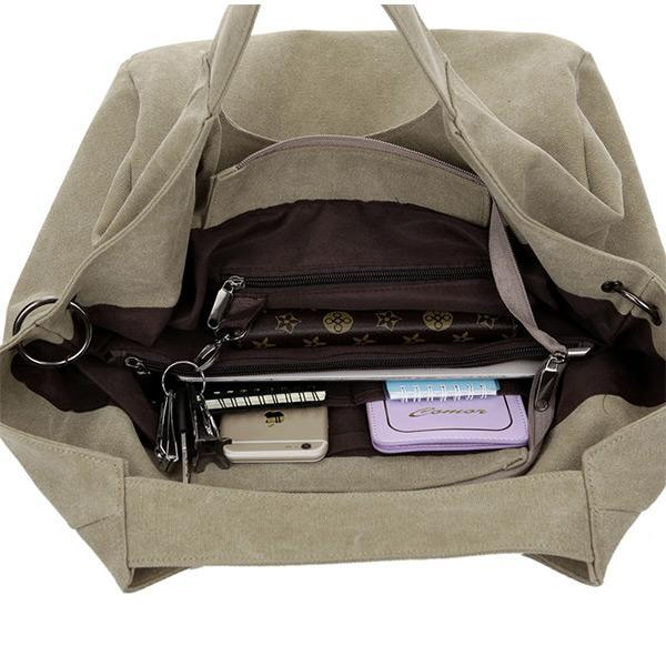 Canvas Large Capacity Bag - Chiclulu