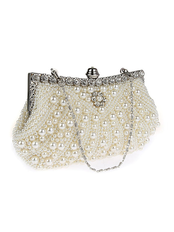 Women's Pearl Clutches for Wedding/Party 92045