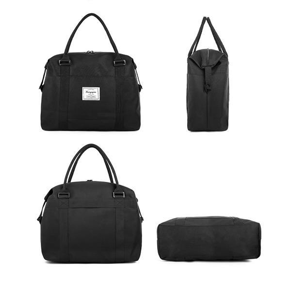 Capacity Oxford Shoulder Bag - Chiclulu