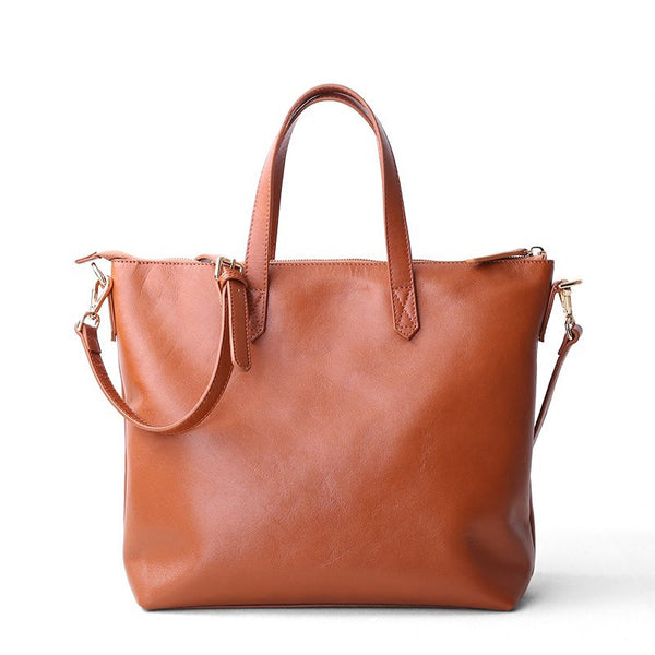 Calf Totes Large Business Handbag - Chiclulu