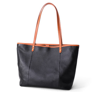 Calf Totes Casual Large Handbag - Chiclulu