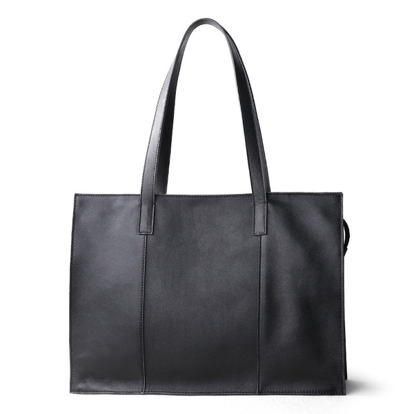 Calf Totes Literary Large Handbag - Chiclulu