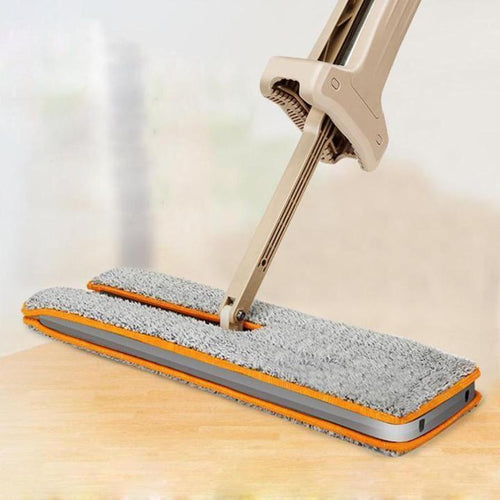 Lazy Mop with Self-Wringing Ability
