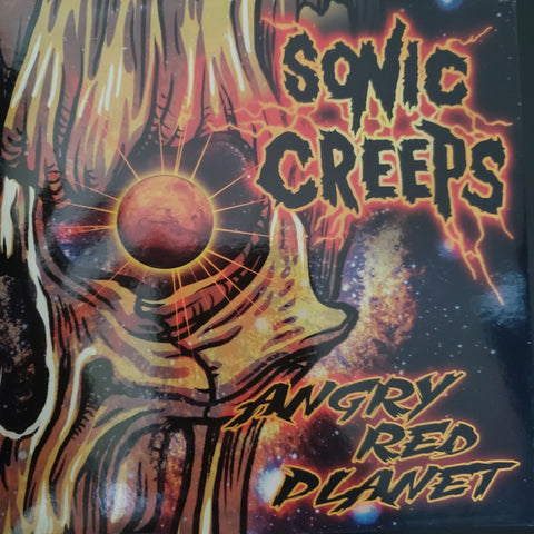 Angry Red Planet Single CD