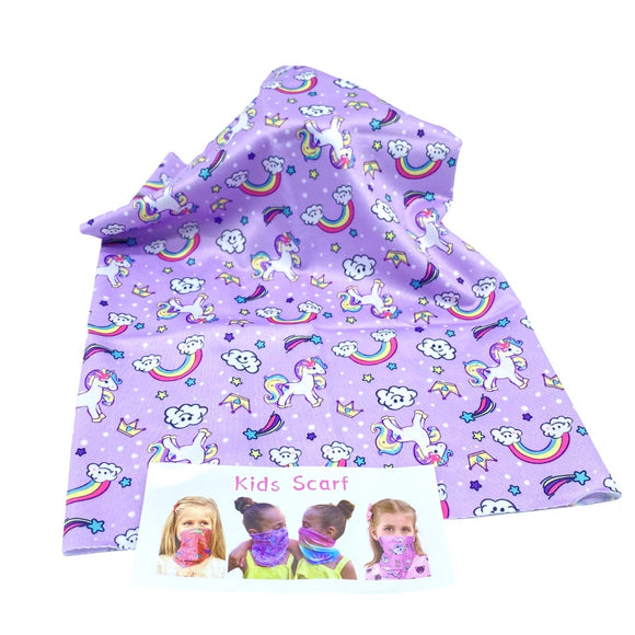 Cuello Kids Unicorn Sky - MariaBolo Accesorios