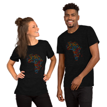 Load image into Gallery viewer, African Map Short-Sleeve Unisex T-Shirt