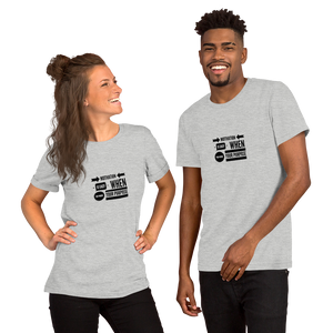Motivation is Easy Short-Sleeve Unisex T-Shirt
