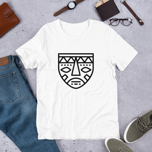 African Mask 2-Short-Sleeve Unisex T-Shirt