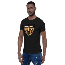 Load image into Gallery viewer, African Mask-Short-Sleeve Unisex T-Shirt