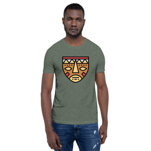 African Mask-Short-Sleeve Unisex T-Shirt