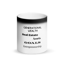 Load image into Gallery viewer, Generational Wealth Black Matte Magic Mug